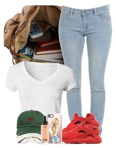 """""""Google-able"""" by imwhit ❤ liked on Polyvore featuring Calvin Klein, NIKE, The Hundreds, Casetify and MAC Cosmetics"""