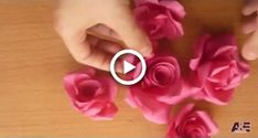Super Easy Way to Make A Real Rose From Paper Tutorial Easy Paper Flowers, Resin Flowers, Paper Roses, Diy Flowers, Rose Crafts, Flower Crafts, Diy Paper, Paper Crafts, Foam Sheet Crafts