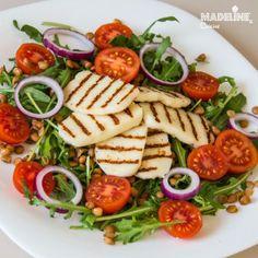 Salata de linte si halloumi / Lentil & halloumi salad - Madeline's Cuisine