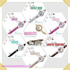 A bracelet for any event or cause!  It is all possible with Origami Owl!  Staci Longest #5229 #origamiowl #teambelieve4life