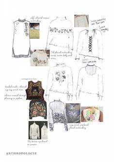 Fashion Sketchbook - fashion drawings; fashion portfolio // Emma Elise Morgan