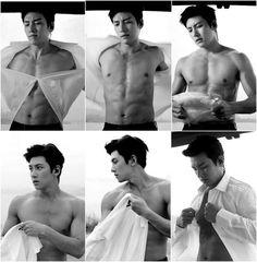 Ji Chang Wook in _The aahh felling blessed Yoona Ji Chang Wook, Ji Chang Wook Abs, Ji Chang Wook Smile, Ji Chang Wook Healer, Ji Chan Wook, Hot Korean Guys, Korean Men, Hot Asian Men, Jung So Min