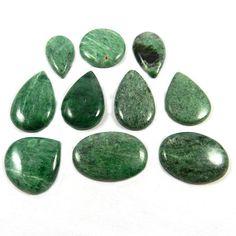 10Pcs 228.5Cts Green Maw Sit Sit Cabochon Wholesale Lot Jewelry Gemstone MC00198 #shining_gems #Mawsitsit #jewelrygemstone #gemstones