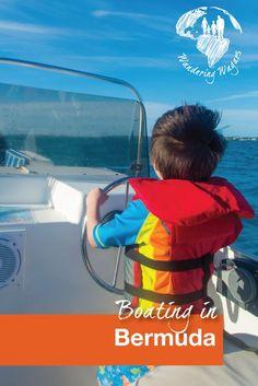 Boating in Bermuda is an amazing way to explore Bermuda's coastline.