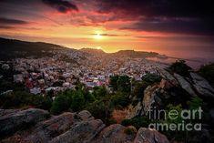 City wake up by Elias Pentikis Ways To Wake Up, Beautiful Sunrise, Best Cities, Stunning View, Photographs, Photos, Beautiful Lights, Wonderful Images, Fine Art America