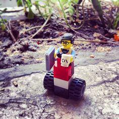 Camino al trabajo | Geekoteca Labs | Lego