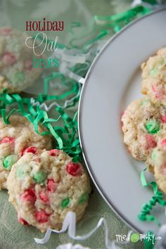 Holiday Oat Drops // TriedandTasty