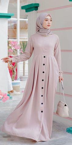 Modest Fashion Hijab, Modern Hijab Fashion, Batik Fashion, Abaya Fashion, Muslim Fashion, Mode Abaya, Mode Hijab, Muslim Long Dress, Latest African Fashion Dresses