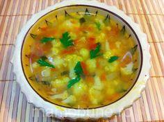 Una din cele mai bune supe sau ciorbe gustate de mine e cea de conopidă. Se prepară simplu și rapid, e foarte gustoasă și, în același timp, foarte sănă Cheeseburger Chowder, Healthy Recipes, Healthy Food, Curry, Health Fitness, Soup, Thanksgiving, Menu, Vegan