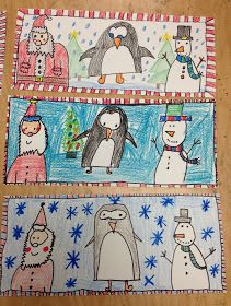 Apex Elementary Art: it's beginning to look a lot like....