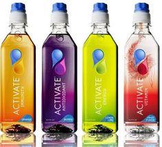Envases de bebidas altamente creativos. La imagen vende productos