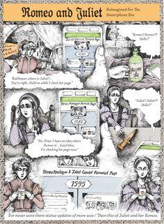 Classic Literature, Reimagined For The Smartphone Era - Romeo And Juliet