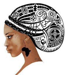 African art The beginning of the Queen SHE IS THAT WHICH HOLDS MAN,THE WORLD…