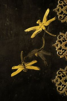 Gold decoration from the Chinese Cabinet