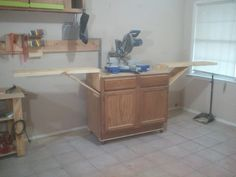 Second miter saw station for my shop | Jays Custom Creations