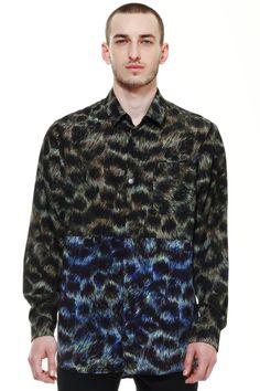 Zambesi wildcat print shirt