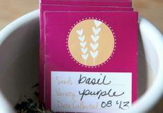 Free Printable Seed Packet Valentines Craft