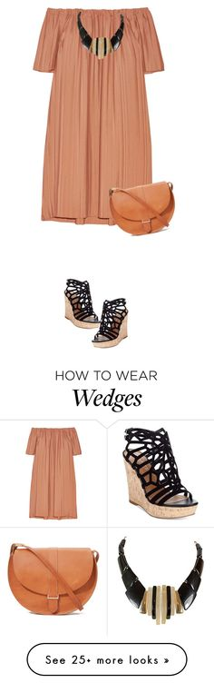 """S/S"" by rasaj on Polyvore featuring ADAM, Charles by Charles David and Clare V."