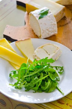 a bright mini salad to accompany your cheese course