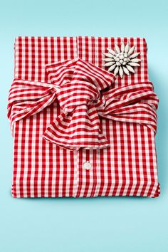 Ready-to-Wear Ready-to-Wear Infuse new life into a thrift-store shirt and brooch. Not only is the result eco-friendly, but, as gift wrap designer Jenn Playford points out, when you remove the brooch and unpin the shirt, you've got three gifts in one.