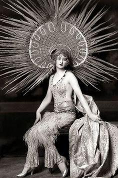 Myrna Darby, Ziegfeld Follies - ZIEGFELD FOLLIES, 1920s The Follies were lavish revues, something between later Broadway shows and a more elaborate high class Vaudeville variety show.