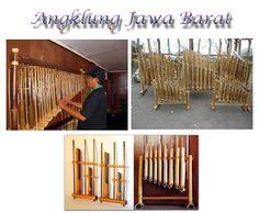 salah satu alat musik indonesia yang mendunia ada di jawa barat yaitu angklung