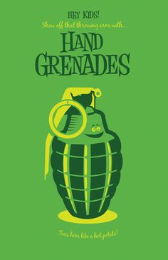 Kids Need Hand Grenades