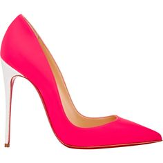 Christian Louboutin So Kate Pumps ($695) ? liked on Polyvore featuring  shoes, pumps