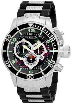 Price:$299.00 #watches Invicta 0477, With a bold, masculine design, Invicta chronograph has a poised and calm ambience that's sure to have you looking twice.