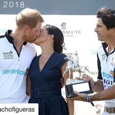 When your 3 favorite people are all  in one place at the very same time! #polobliss #polo #nachofigueras #harryandmeghan  #polofamilies #worldseriesofpolo #iampolo #wearepolo #fairytalesdocometrue Nacho Figueras Repost  #sentebalepolo See Nacho's post for more polo details!