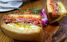 There are sandwiches and cold-pressed juices at Sunny Days Cafe.