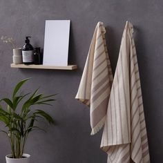 4-Pc. Hamam & Bath Towel Set in Cotton designed in Austria by Framsohn Frottier #MONOQI