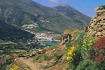 Aegiali in Amorgos, Greece