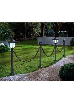 Řetezový plot se solárními lampami • 849.0 Kč • bonprix