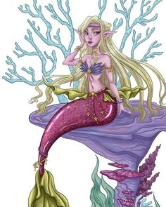 "Ernestine Matthes on Instagram: ""Today is the last day of mermay. I had a lot of fun with the topic, and I am looking forward to drawing legs again. I thought mermay was a…"" Drawing Legs, Mermaid Artwork, Looking Forward, Princess Zelda, Thoughts, Drawings, Day, Fictional Characters, Instagram"