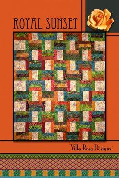pieced quilt mini PATTERN Villa Rosa Designs Oklahoma PATTERN