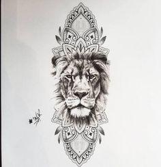 Tattoo, tattoo neck, mandala lion tattoo, lion arm tattoo, mandala tattoo d Mandala Lion Tattoo, Lion Arm Tattoo, Lion Tattoo Sleeves, Small Lion Tattoo, Lion Head Tattoos, Hip Tattoo Small, Leg Sleeve Tattoo, Leo Tattoos, Animal Tattoos