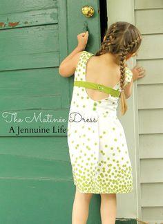 Matinee Dress and Peplum Top