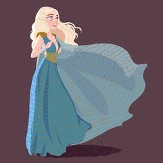 Daenerys Targaryen by Dreemers.deviantart.com on @DeviantArt
