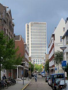 Rotterdam - Doorkijk zijstraat van Nieuwe Binnenweg