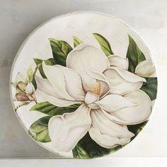 Magnolia Ceramic Salad Plate