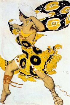 Нарцисс Юноша 1911. Леон Бакст