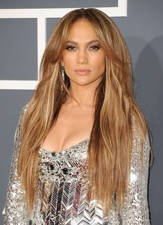Jennifer Lopez channeling her inner goddess at the 2011 Grammys