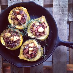 QI SUPPORT + ENERGETIC FOODS + GREEN ACORN SQUASH  on: www.GoForthCulture.com