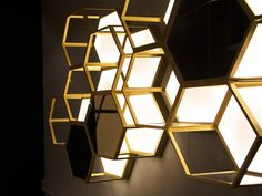 Lamborghini, Kiosk Design, Metal Walls, Wall Lights, Lighting, Science Museum, Screens, Warehouse, Room Ideas