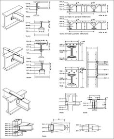 50 Best Steel Structure Details CAD Drawings Download images in 2017