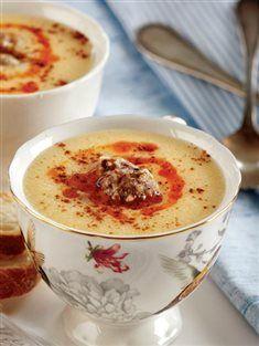 Terbiyeli patates çorbası