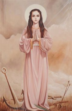 Novena a santa filomena Catholic Prayers, Catholic Art, Catholic Saints, Roman Catholic, Religious Art, Saints And Sinners, Divine Mother, Mother Mary, All Saints Day