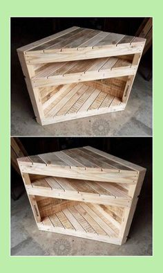 Awesome DIY Pallet Ideas to Tryout This Year. Pallet Furniture Designs, Pallet Designs, Reclaimed Wood Furniture, Furniture Projects, Rustic Furniture, Diy Furniture, Furniture Stores, Garden Furniture, Antique Furniture