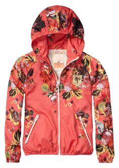 Super vrolijk jasje voor meisjes uit de voorjaarscollectie van Scotch R'Belle | ♥ eb-vloed.nl